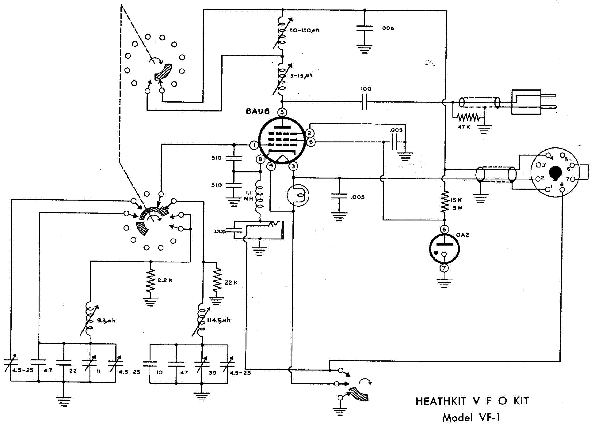 Heathkit Vf