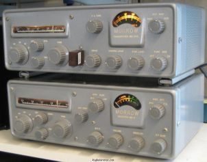 MB-6 with matching MB-565 transmitter (Courtesy of K6JCA) - Submitted by elmer