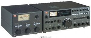 with NFG-97 antenna tuner - Submitted by elmer