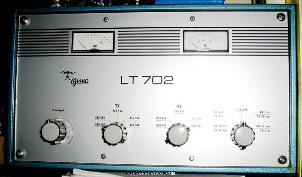Braun LT702 Specifications | RigReference com