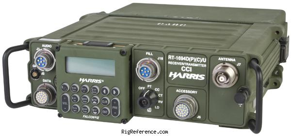 Harris AN/PRC-150(C) Specifications | RigReference com