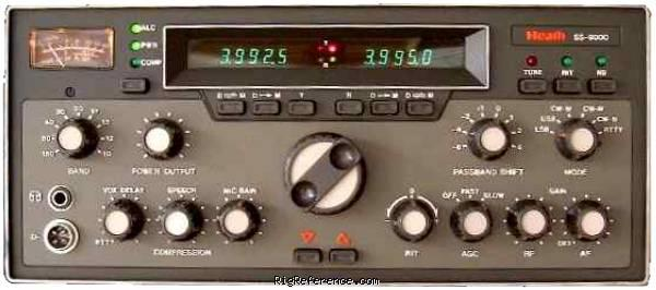 Heathkit Ss 9000 Specifications Rigreference Com