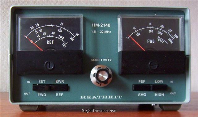 For sale heathkit hm-2140 wattmeter 160-10 meters $80. 00 | qrz.