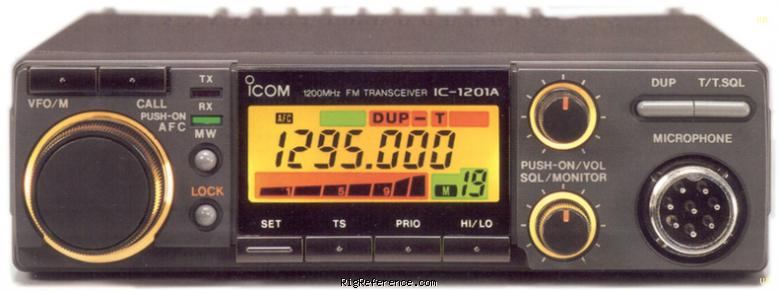 Icom ic 1201 Manual I UHF SHF radio RadioManual