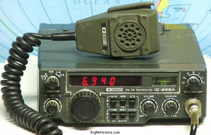 ICOM IC-255A Specifications | RigReference com