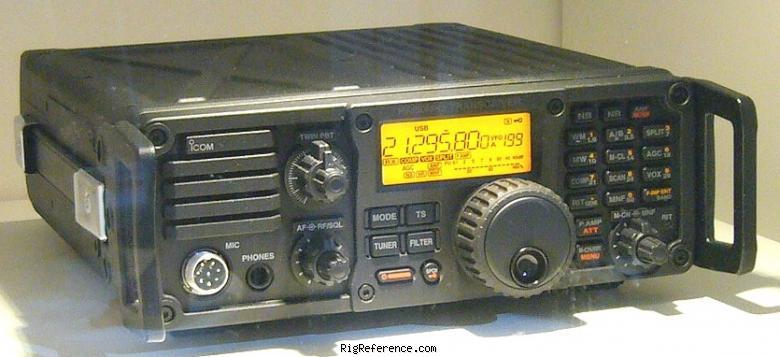 Icom IC-7200 Transceiver USB Vista