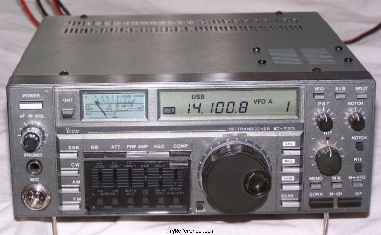 icom ic 735 specifications rigreference com rh rigreference com icom ic 736 manual icom ic 736 manual