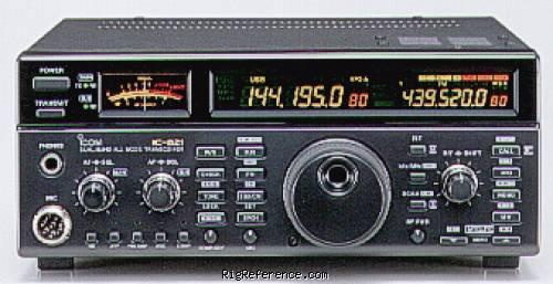 icom ic 821h specifications rigreference com rh rigreference com Icom IC- M412 VHF Marine Radio Icom Radio F50