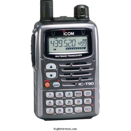 ICOM IC-T90 Specifications   RigReference.com