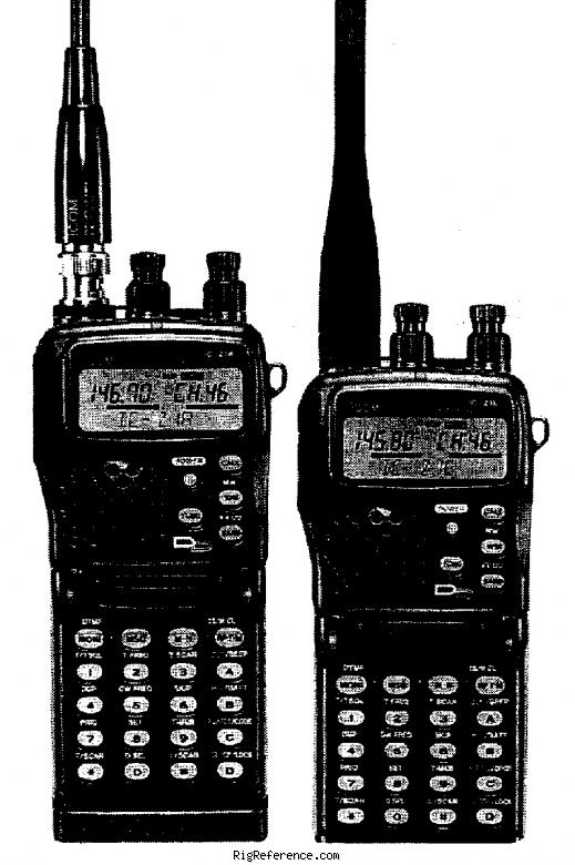 icom ic z1a specifications rigreference com rh rigreference com Icom Aircraft CommRadio Icom Aircraft CommRadio