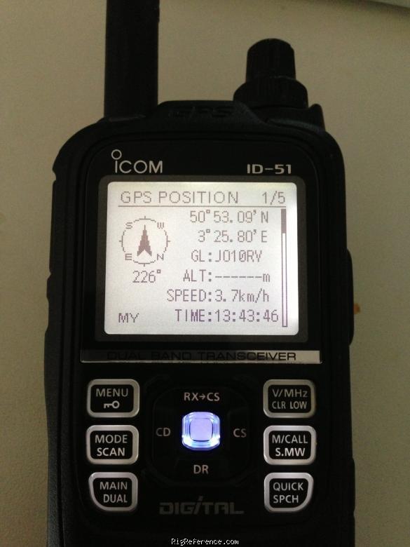 ICOM ID-51A TRANSCEIVER TREIBER