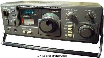 kenwood r 1000 specifications rigreference com rh rigreference com Kenwood R 1000 Receiver kenwood r 1000 manual pdf