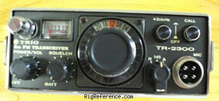 Kenwood Tr 2300 Specifications Rigreference Com