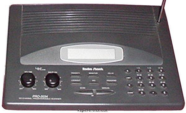 radio shack pro 2034 scanner manual