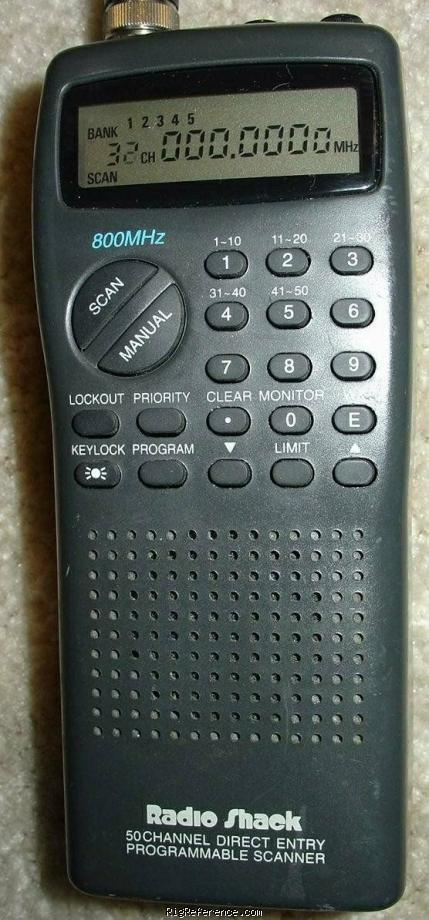 radioshack realistic pro 23 newer specifications rigreference com rh rigreference com Radio Shack Handheld Police Scanners Radio Shack 1000 Channel Scanner