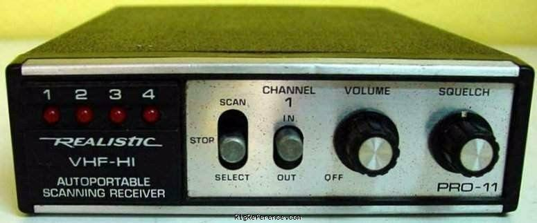 Radioshack    Realistic Pro