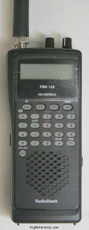 radioshack realistic pro 135 specifications rigreference com rh rigreference com Pro-135 Scanner Police Pro 136 User Manual