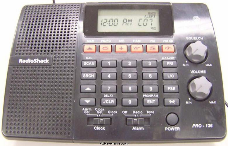 radioshack realistic pro 136 specifications rigreference com rh rigreference com Radio Shack Handheld Scanner Radio Shack Scanners On Sale