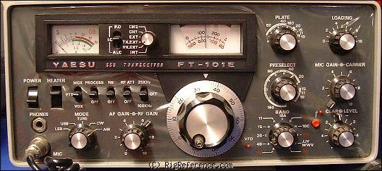 Yaesu FT-101 Specifications | RigReference.com on