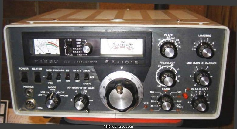 Yaesu FT-101E Specifications | RigReference.com on