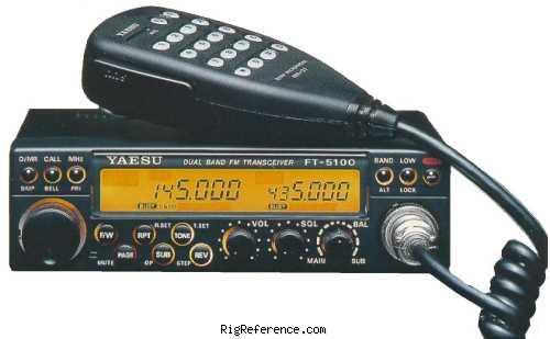 yaesu ft 5100 specifications rigreference com rh rigreference com
