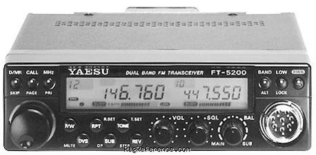 yaesu ft 5200 specifications rigreference com rh rigreference com