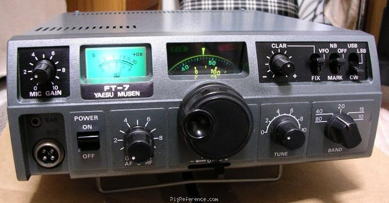 Yaesu FT-7 Specifications | RigReference.com