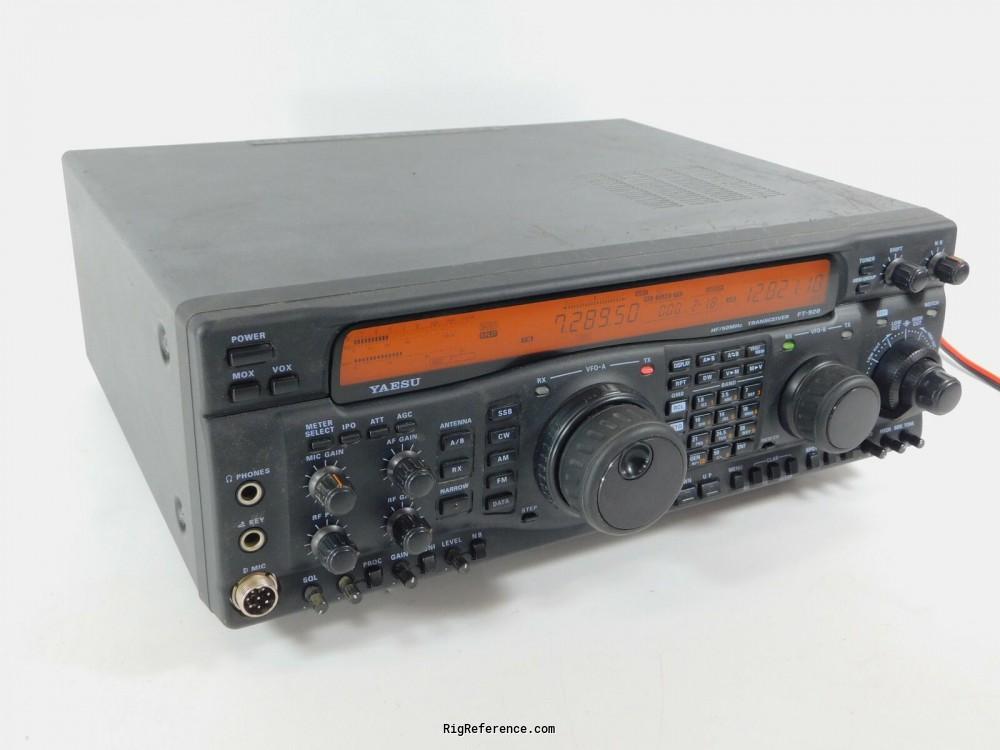 Yaesu Ft 920af Desktop Hf Vhf Transceiver Rigreference Com