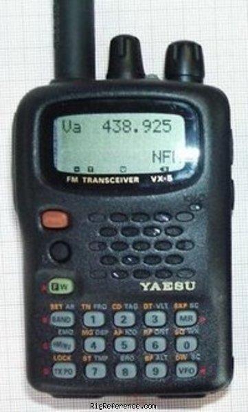 yaesu vx 5r specifications rigreference com rh rigreference com Instruction Manual Example Manuals in PDF