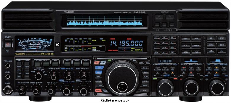 Yaesu Ftdx5000d Specifications Rigreference Com