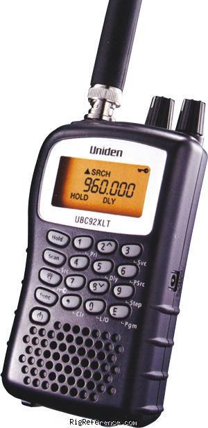 uniden bearcat ubc92xlt specifications rigreference com rh rigreference com Uniden Bearcat Scanner Uniden Bearcat Scanner Manual